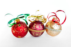 Christmas holiday ornaments Royalty Free Stock Photo