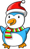 Christmas Holiday Penguin Royalty Free Stock Images