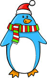 Christmas Holiday Penguin Stock Image