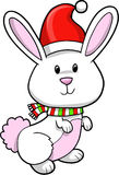Christmas Holiday Rabbit Royalty Free Stock Images