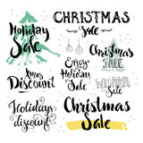Christmas and Holiday sale Royalty Free Stock Photography