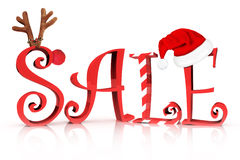 Christmas Holiday Sale Royalty Free Stock Images
