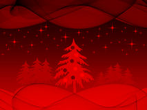 Christmas holiday scene Stock Photo