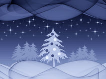 Christmas holiday scene Royalty Free Stock Photo