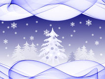 Christmas holiday scene Royalty Free Stock Photos