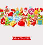Christmas Holiday Seamless Texture Royalty Free Stock Photos