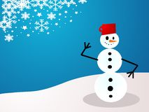 Christmas Holiday Snowman Stock Photos
