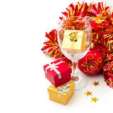 Christmas holiday still life Stock Photo