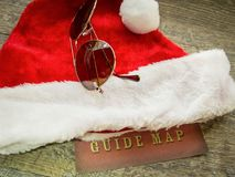 Christmas Holiday Travel Guide Background Stock Photos