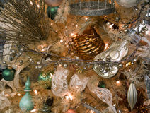 Christmas Holiday Tree Decorations Stock Image