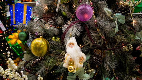 Christmas Holiday Tree Decorations Stock Photos