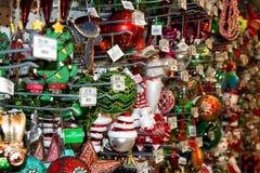 Christmas Holiday Tree Display at Retail Store Royalty Free Stock Photos