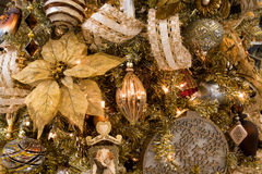 Christmas Holiday Tree Ornaments Royalty Free Stock Photography