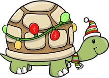 Christmas Holiday turtle Vector Stock Photography