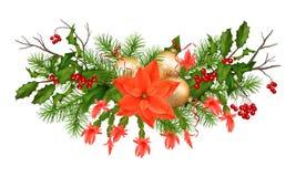 Christmas Holiday Vector Garland Stock Images