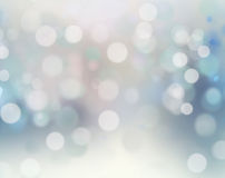 Christmas holiday winter snowy blur background. Stock Photos