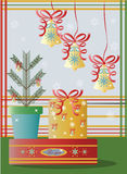 Christmas holidays decorations Vector Royalty Free Stock Image