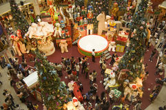 Christmas Holidays in KL Mid Vally shopping center Stock Images