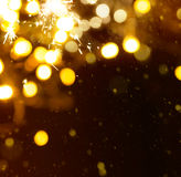 Christmas holidays light  background Stock Photography