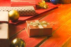 Christmas and Holidays. Presents. Stock Photo