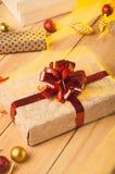 Christmas and Holidays. Presents. Royalty Free Stock Image