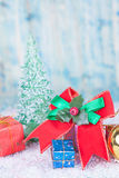 Christmas, holidays, presents, new year and Stock Images