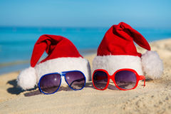 Christmas holidays and Romantic New Year at Sea. Stock Image