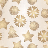 Christmas and Holidays seamless pattern. Vector Royalty Free Stock Photography