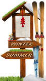 Christmas Holidays Wooden Sign Royalty Free Stock Photos