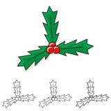 Christmas Holly Royalty Free Stock Photo