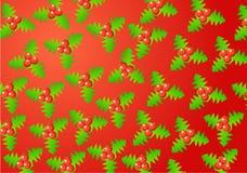 Christmas holly Stock Image