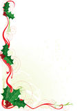 Christmas Holly Border vector illustration