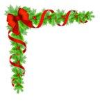 Christmas holly border Royalty Free Stock Photography