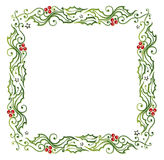 Christmas, holly Stock Images