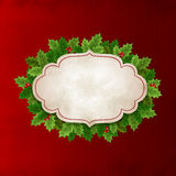 Christmas Holly leaves Royalty Free Stock Photos