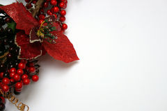 Christmas Holy greetings stock images