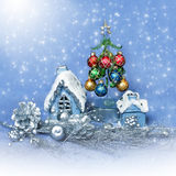 Christmas home decor Stock Images
