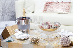 Christmas home decoration Royalty Free Stock Photo