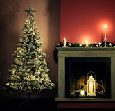 Christmas home decoration Royalty Free Stock Images