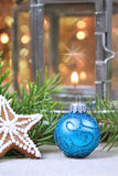 Christmas home decoration Royalty Free Stock Photography