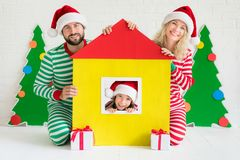 Christmas Home Holiday Design Concept Royalty Free Stock Photography