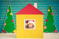 Christmas Home Holiday Design Concept Royalty Free Stock Images