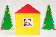 Christmas Home Holiday Design Concept Stock Photography