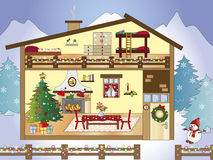 Christmas home Stock Photo