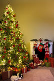 Christmas at home Stock Photography