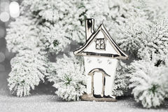 Christmas home Stock Image