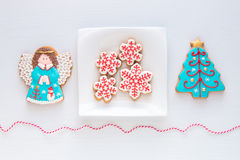 Christmas homemade cookies. Stock Photography