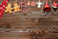Christmas homemade decoration Stock Photos