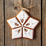 Christmas homemade gingerbread cookie Royalty Free Stock Photo