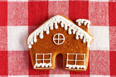 Christmas homemade gingerbread cookie Royalty Free Stock Photos